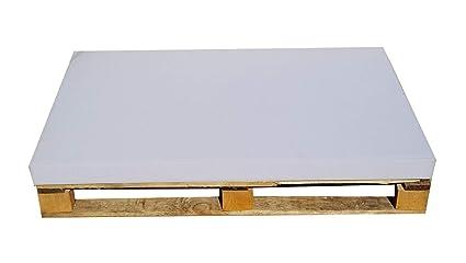 Cojines para muebles creados con palés, sofá creado con palés, colchones (120 x 80 x 8 cm), espuma de palés europeos, también aptos para camas de perros, ...