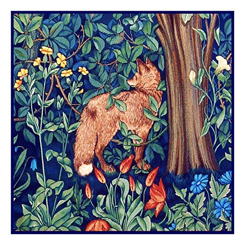 Orenco Originals Forest Fox by William Morris Counted Cross Stitch Pattern ()