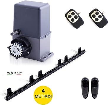 Kit motorización puerta de garaje Artemis - kit profesional de alta calidad para automatizar puertas correderas hasta 600 kg de peso. (ARTEMIS 600 (PESO PUERTA HASTA 600KG)): Amazon.es: Bricolaje y herramientas