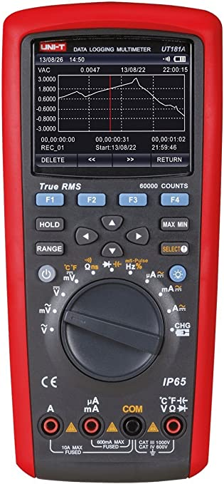Uni T Ut181a Mie0171 Digital Multimeter Ut181 A Baumarkt