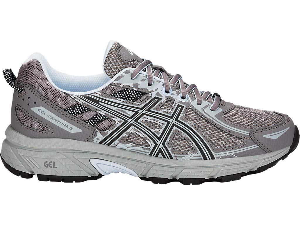 ASICS Women's Gel-Venture 6 Running Shoes, 8M, Carbon/Soft Sky by ASICS