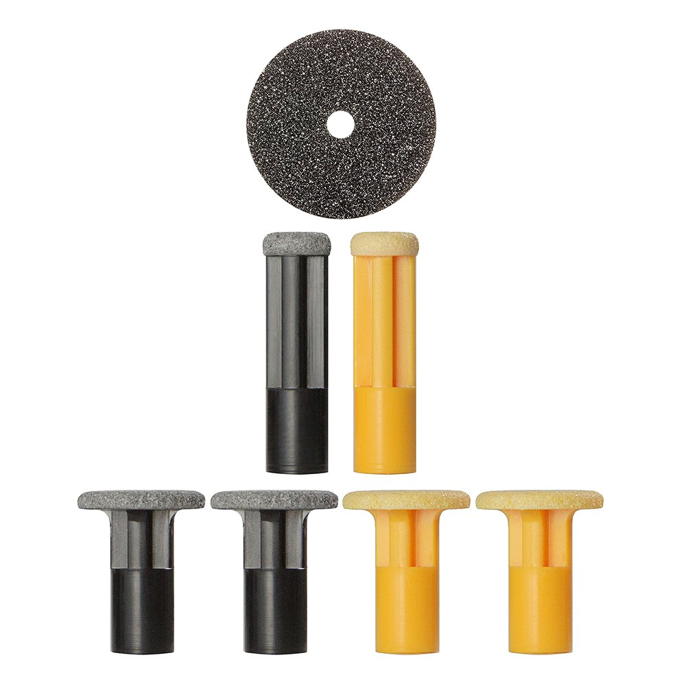 PMD Personal Microderm Body Kit Replacement Discs - Includes 3 Yellow Intense Discs, 3 Black Body Discs, and 1 Filter - For Use With Classic, Plus, Pro, and Man