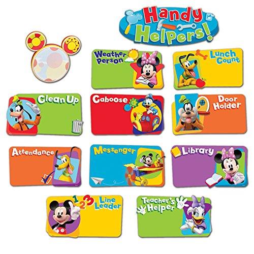 (Eureka Classroom Bulletin Board Set, Mickey Mouse Clubhouse Handy Helpers Job Chart Mini)