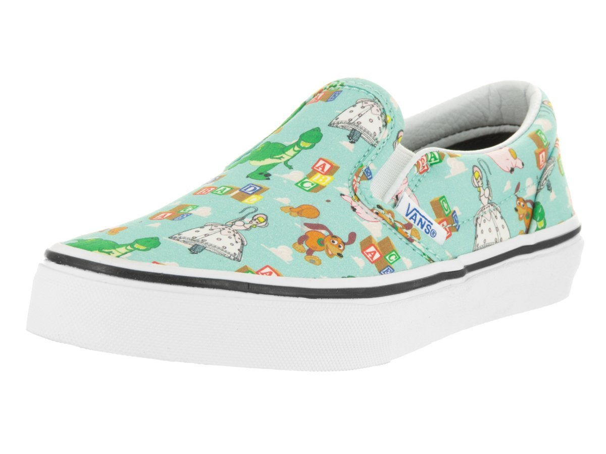 Vans Kids Classic Slip-on (Toy Story) Andystoys/Btin Skate Shoe 3 Kids US