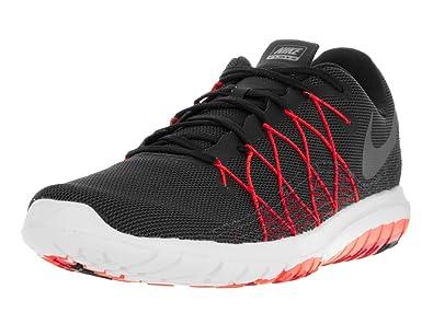 8dc71b7aaa26f Nike Men s Flex Fury 2 Black Metallic Hmtt University Red TTL C Running  Shoe 8. 5 Men US  Buy Online at Low Prices in India - Amazon.in