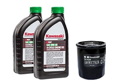 Amazon.com: Kawasaki Kit para cambio de aceite: Jardín y ...