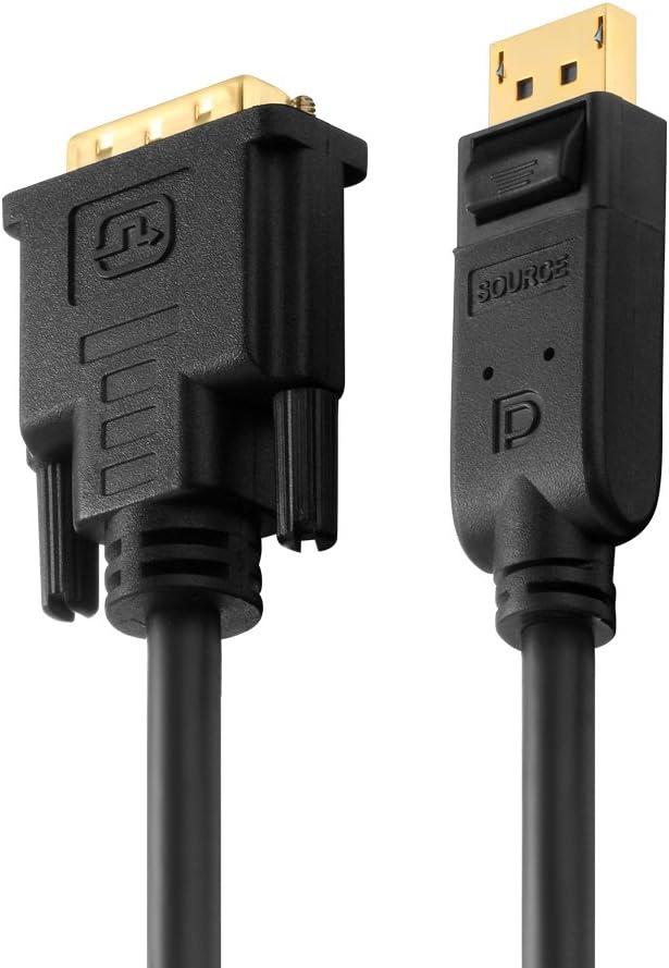 Noir 8K 1,50m connecteur DisplayPort sur connecteur DisplayPort PureLink PI5010-015 C/âble DisplayPort 1.4 4320p,