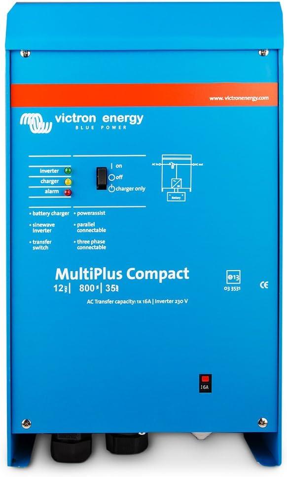 Victrone Energy - Cargador de cristal con ENERGY MULTIPLUS C, 12 V, 800 WATTS