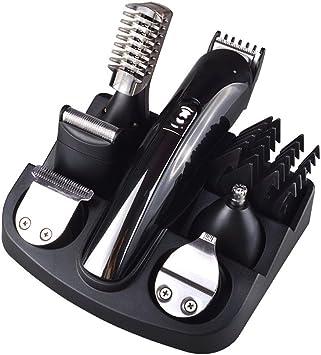 KVCH - Kit profesional de peluquería 7 en 1 para hombre, doble afeitadora para cortar el pelo de la nariz: Amazon.es: Salud y cuidado personal