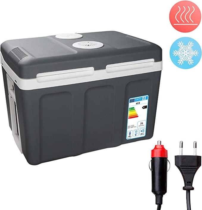 Kühlbox Warmhaltebox Thermoelektrische ECO Funktion 24L 2 in 1 Mini-Kühlschrank