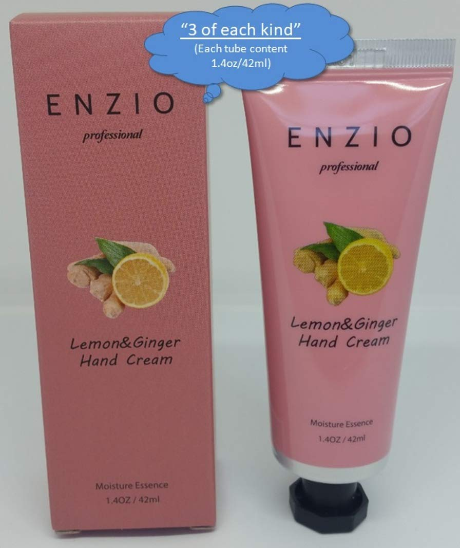 """ENZIO Professional Grade Shea Butter Based Hand Cream Lotion Gift Set """"Party Pack"""" (7 variety x 3 = 21 tubes total) (Free of Parabens, Benzophenone, Talc, and Color Additives) by ENZIO (Image #7)"""