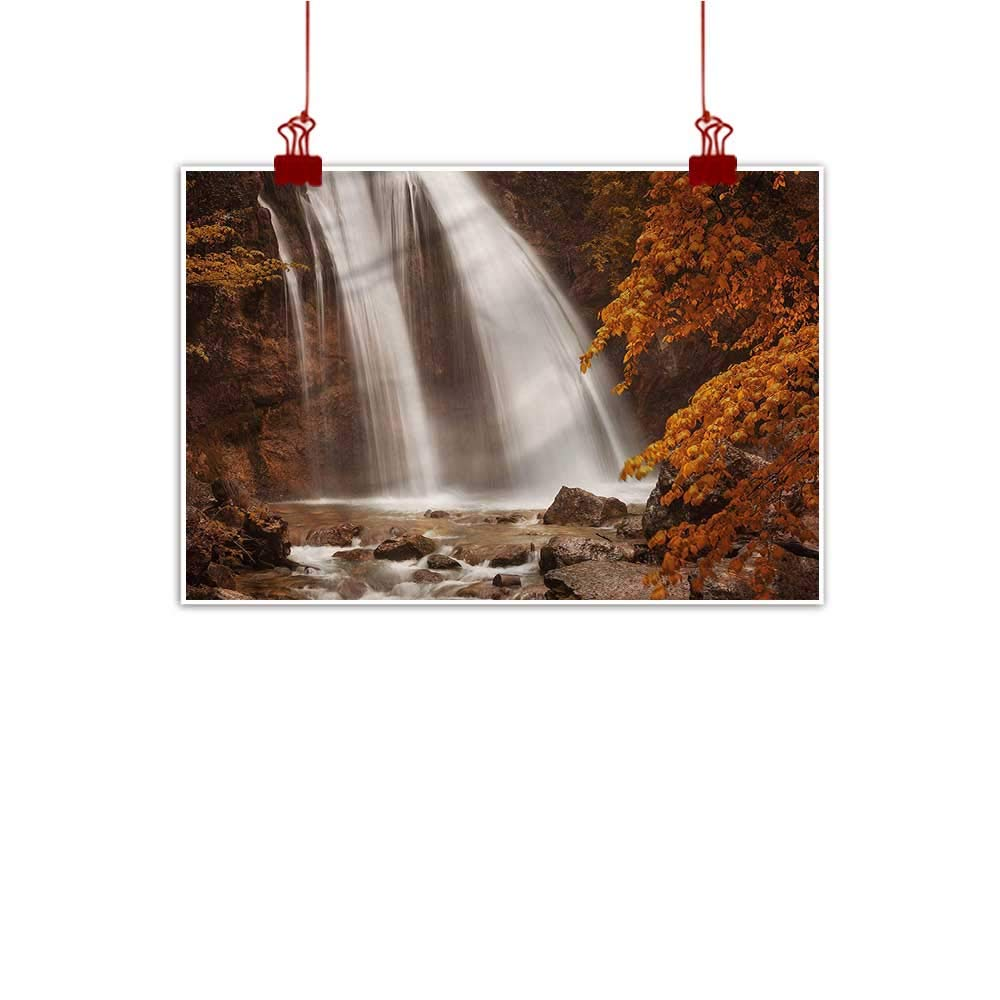 color06 48 x32  (120cm x 80cm) Decorative Art Print Waterfall,Grand Canyon Fall Nature for Bedroom Living Room Kitchen Bathroom Artwork