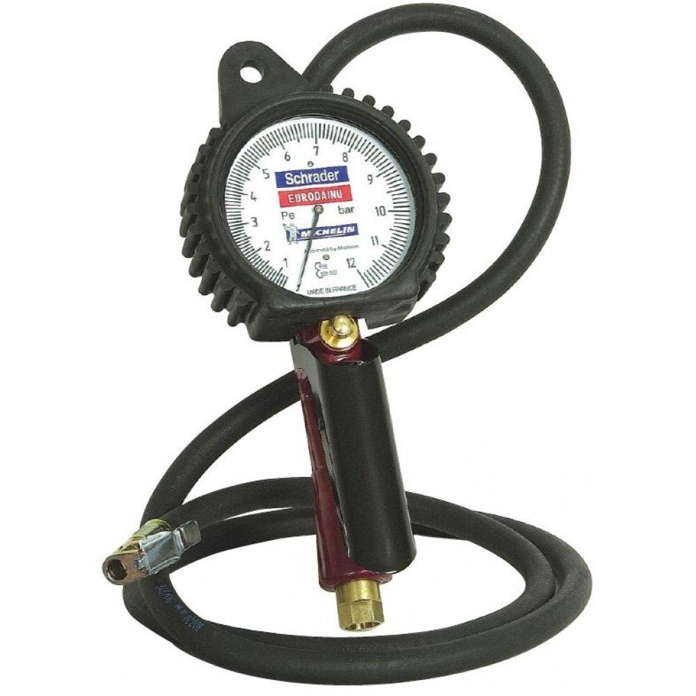 Pistola para inflado de neumáticos (presión de 0.7–11bar), manguera de 1.5m