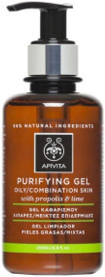 Apivita - Gel limpiador pieles grasa/mixta con propóleo & cítricos