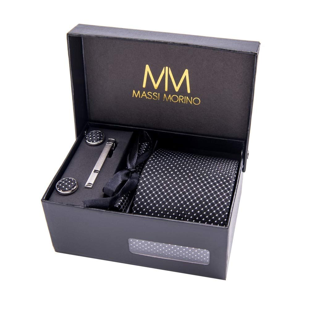 MASSI MORINO Men's Designer Necktie