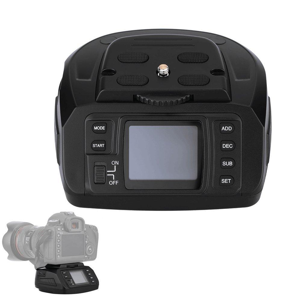 Andoer/® AD-10 Tr/épied panoramique motoris/é /électronique et automatique avec t/ête sph/érique 360 degr/és pour appareils photos DSLR Canon// Nikon// Sony//Pentax