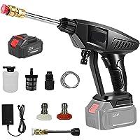 25 V 30 Bar Draadloze Power Pressure Washer Cleaner, Draagbare Elektrische Batterij Hogedruk Auto Wash Water Gun…