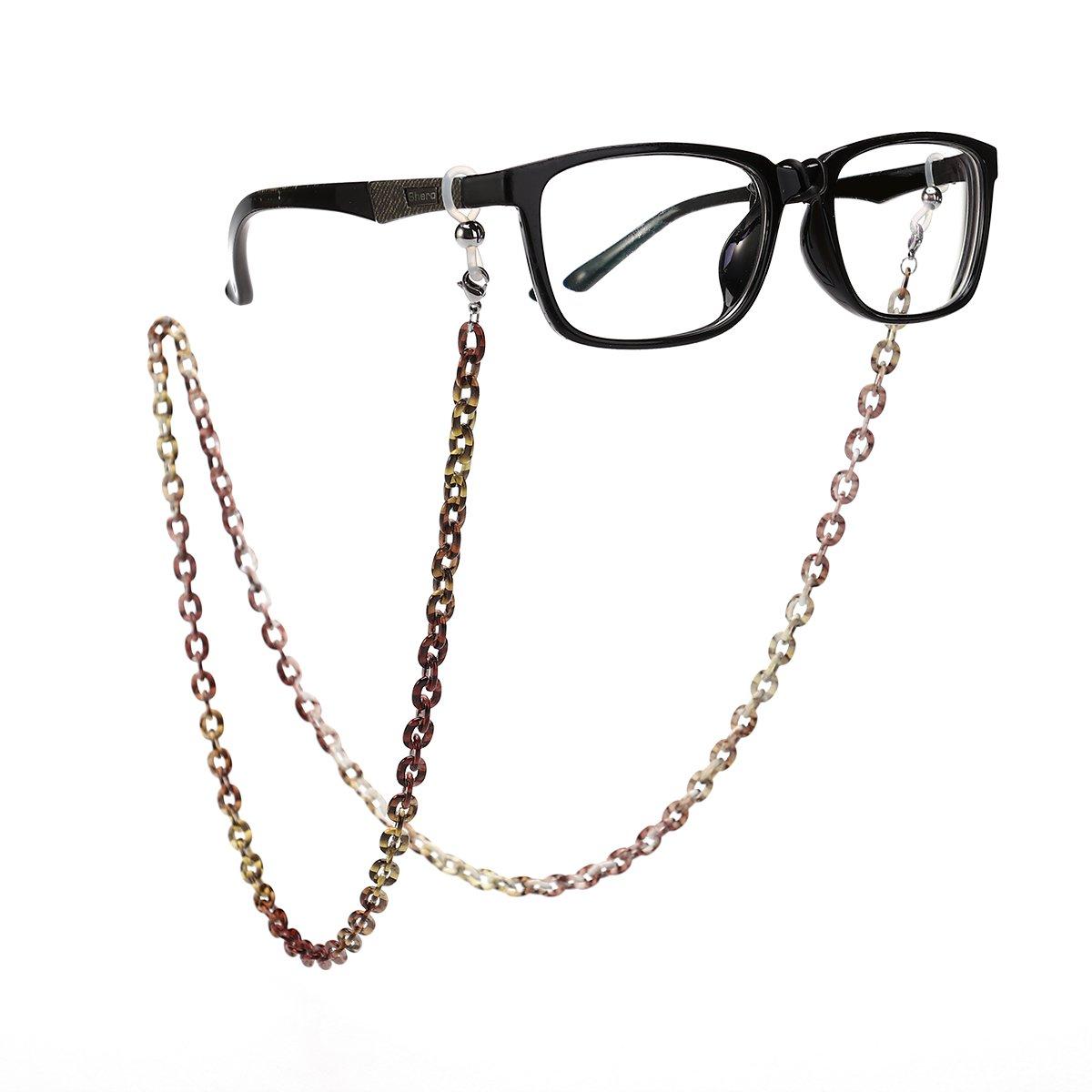Tinksky Brillenkette Brillenhalter Aluminium Brillenband Sonnenbrillen Gläser Halterung FET05L6J21L43Z5PIUWJ