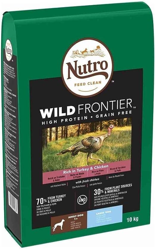 Nutro Wild Frontier Adulto Pollo y Pavo 10KG Razas Grandes: Amazon.es: Productos para mascotas