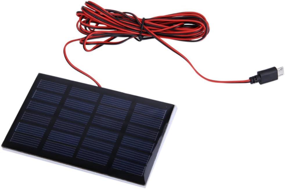 Bombillas LED portátil con panel solar de 0,8 W para acampada y senderismo: Amazon.es: Hogar