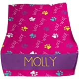GiftsForYouNow Woof Woof Personalized Pet Throw Blanket