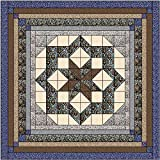 Easy Quilt Kit Constellation/Neutral/King/Expedited Shipping