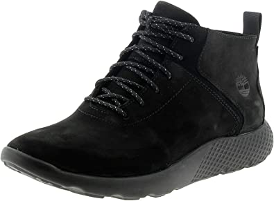 TALLA 41.5 EU. Timberland - Flyroam Leather Trainer Black - Sneakers Hombre