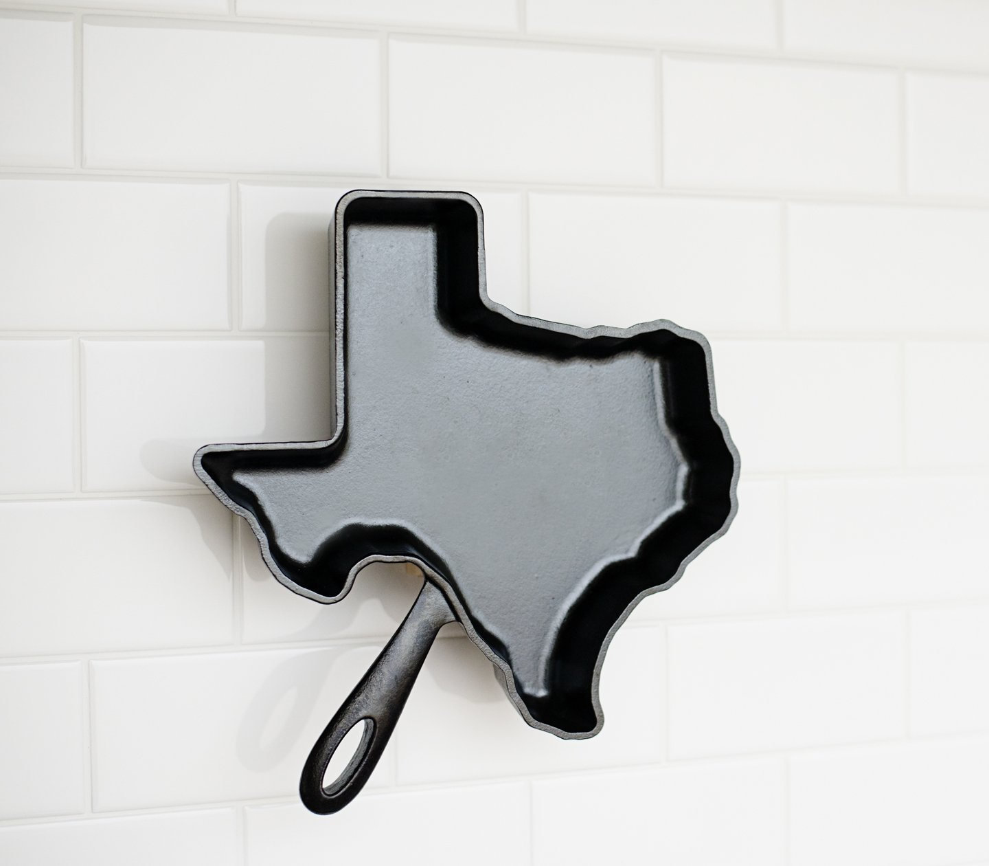 Texas cast iron Skillet by American Skillet Company