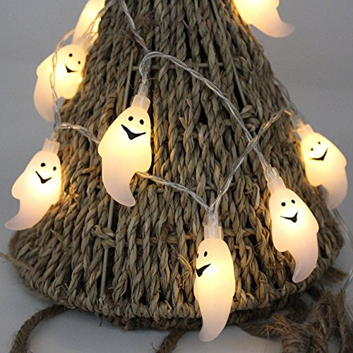 Zlimio 10LED String Light Small Ghost Fairy Sty...