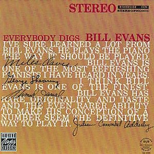 Evans, Bill - Everybody Digs Bill Evans - Amazon.com Music