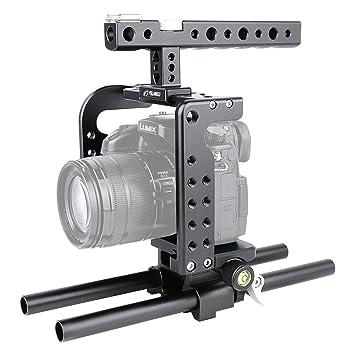 YELANGU ylg0906 a cámara vídeo Steadicam estabilizador de mano ...