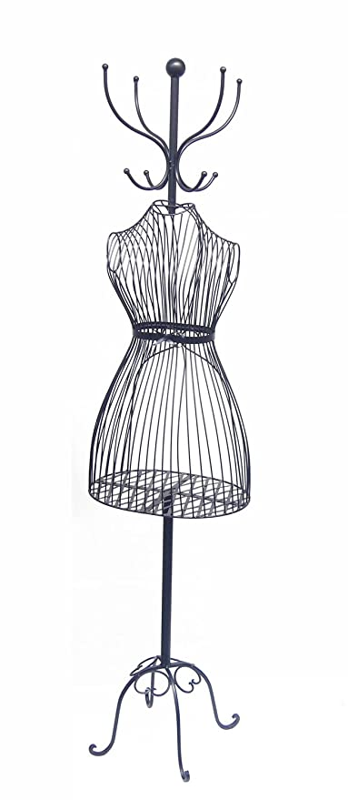 Wire Mannequin Coat Rack - WIRE Center •