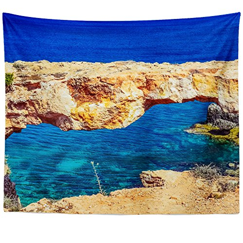 Greco Tapestry (Westlake Art Wall Hanging Tapestry - Cape Greco - Photography Home Decor Living Room - 68x80in (x8z-816-183))