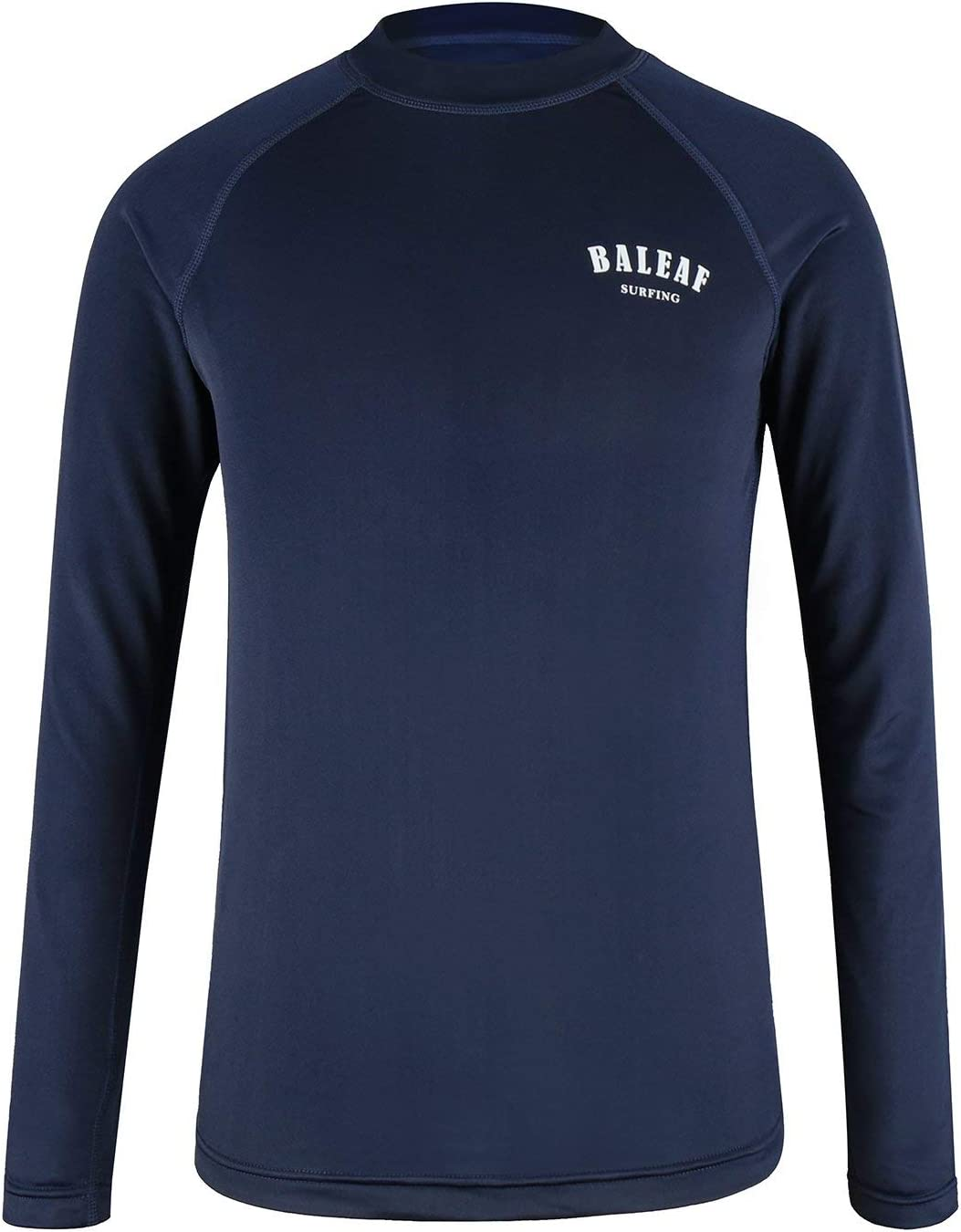 BALEAF Big Boys' Short Sleeve Rashguard Quick Dry Swim Shirt UPF 50+