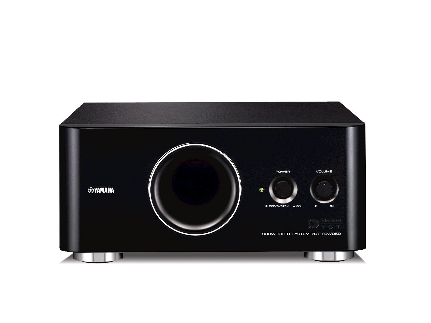 Yamaha YSTFSW050BL Subwoofer with HDMI Cable Black