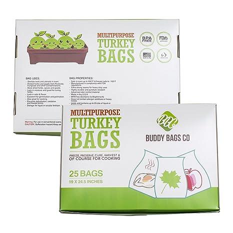 Amazon.com: Bolsas multiusos de nailon para horno, diseño de ...