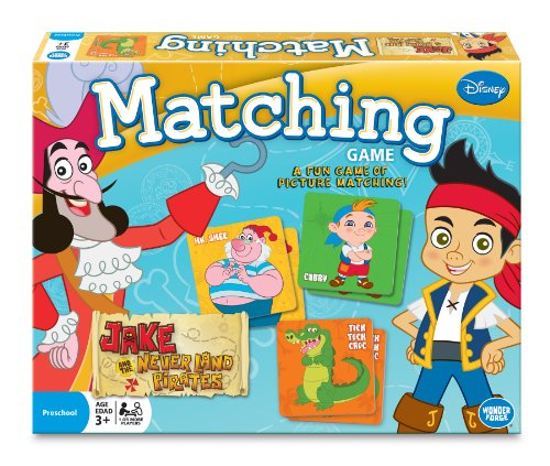 Jake and the Never Land Pirates Matching Game ()