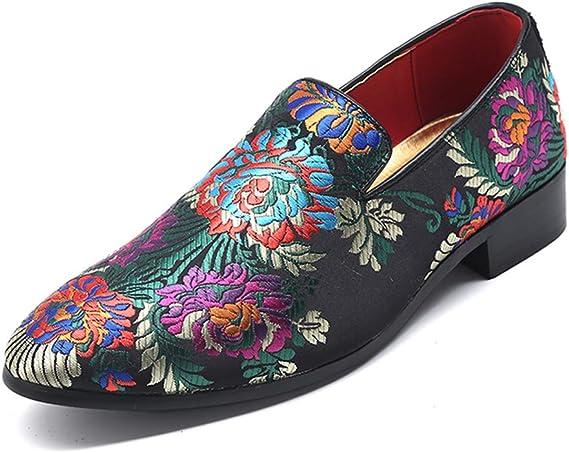 Zapatos Ocasionales Perezosos De Los Hombres Mocasín,Satén ...