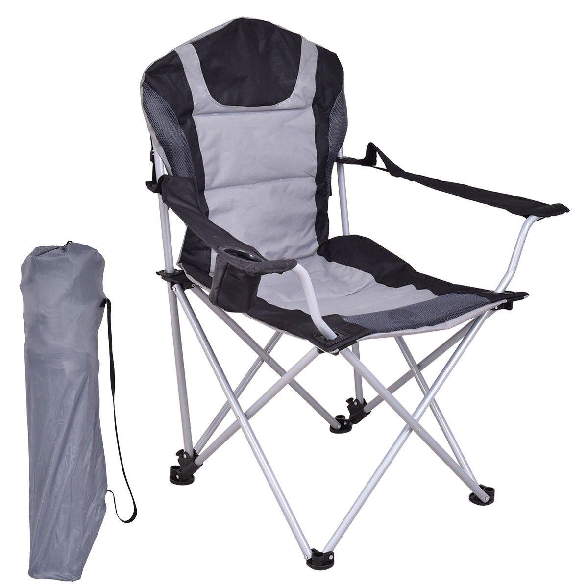 XT ポータブル 釣り キャンプ 椅子 シート カップホルダー ビーチ ピクニック アウトドア 折りたたみバッグ Gxfc   B07CFX6GSV