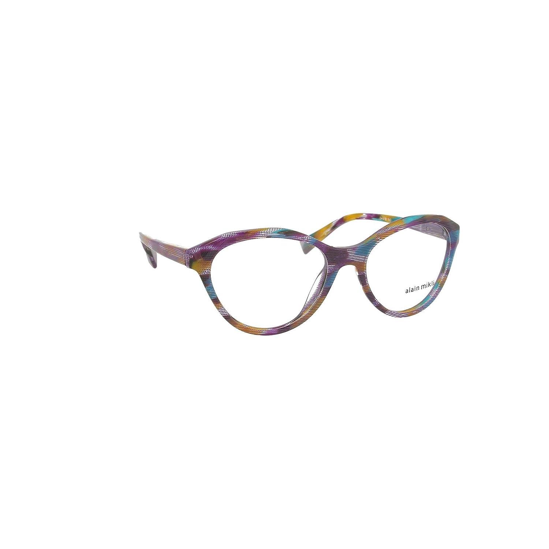 Alain Mikli Rx Eyeglasses Frames A03076 005 54-18-140 Fantasy Violet Italy