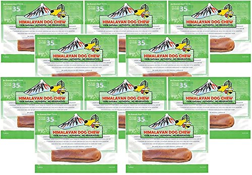 (10 Pack) Himalayan Dog Chew, Medium, 2.3 Ounces each For Sale