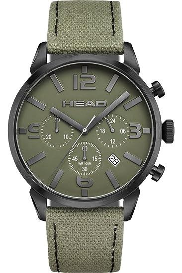 Head Reloj Cronógrafo para Hombre de Cuarzo con Correa en Cuero HE-006-05