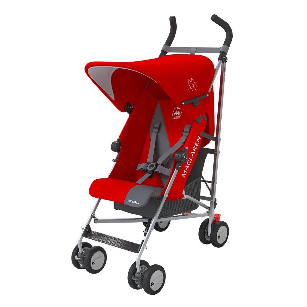 Maclaren Triumph Stroller, Cardinal/ Charcoal