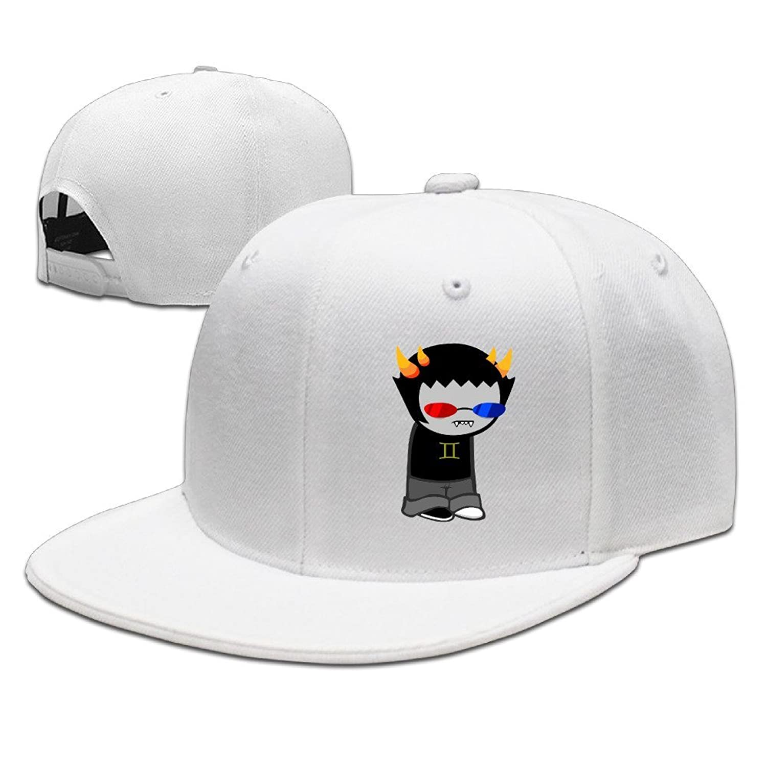 HNN Unisex Cartoon Vampire Flat Baseball Caps Hats