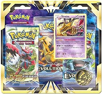 Pokemon Cards Giratina 3-Pack Blister [Importación alemana ...