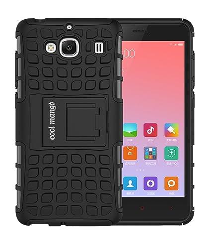 new york 65a25 3abb9 Xiaomi Redmi 2 Prime Protective Case / Back Cover : Cool Mango Premium Dual  Layer Armor Protection Case Cover with Kickstand for Xiaomi Redmi 2 Prime  ...