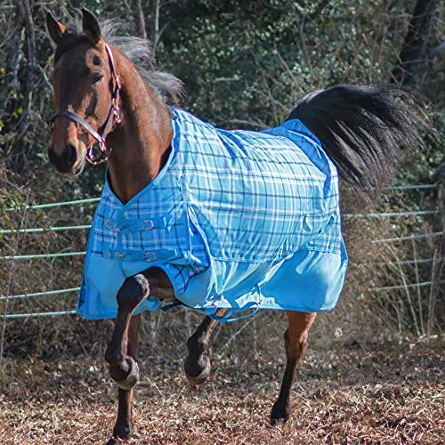 HORZE Dakota 1200 Denier Waterproof Turnout Sheet - Solids