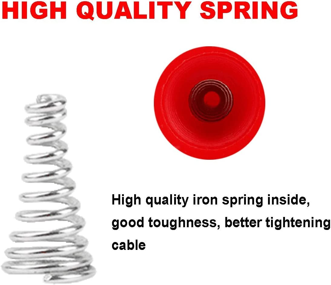 158Pcs Wire Nuts Connectors Screw Terminals Linseray Wire Nuts Assortment Twist Nuts Caps Electrical Wire Connectors with Spring Insterted Cap Connections Assorment Set