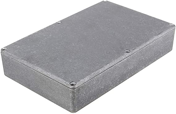 VIDOO 1590Dd Fundido A Troquel Aluminio Stomp Caso Caja para Pedal ...