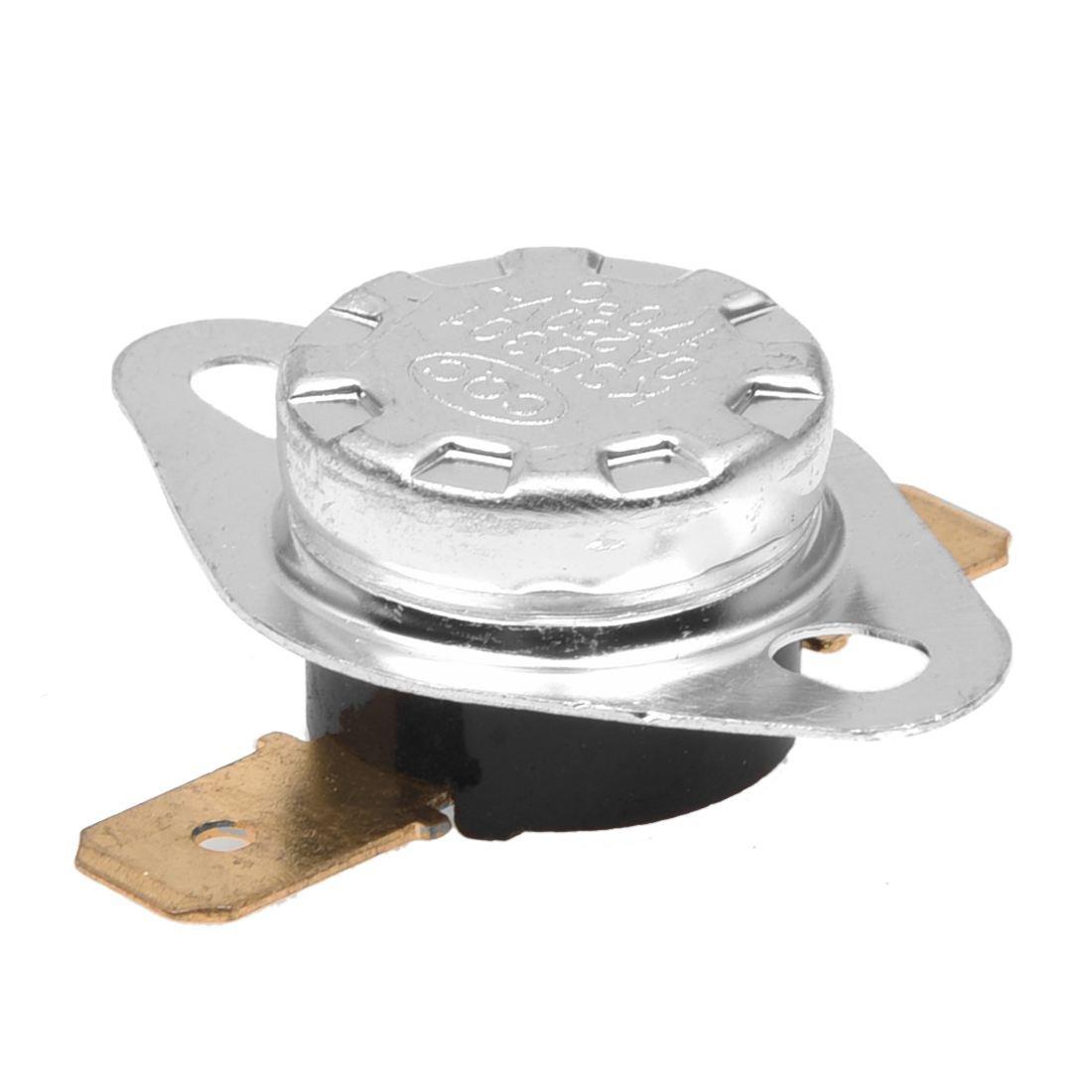 SODIAL(R) AC 250V 10A 170 Celsius NC Temperature Controlled Thermostat KSD301 2 Pcs